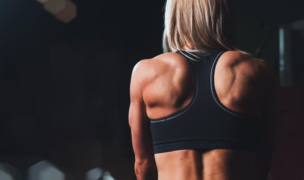 žena a cvičení