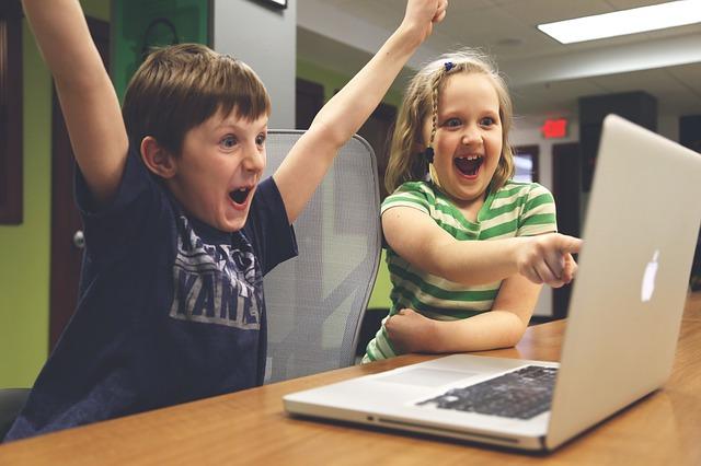 radost dětí